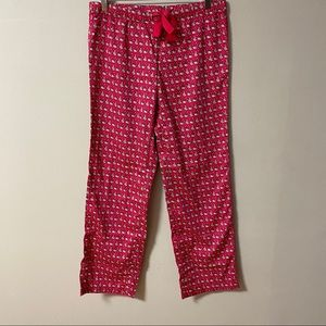 Santa Whale & Tree Cotton Sateen Lounge Pants